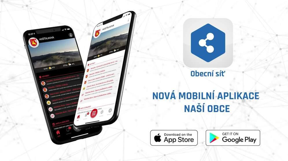 NOVÁ mobilní aplikace pro Hošťálkovou