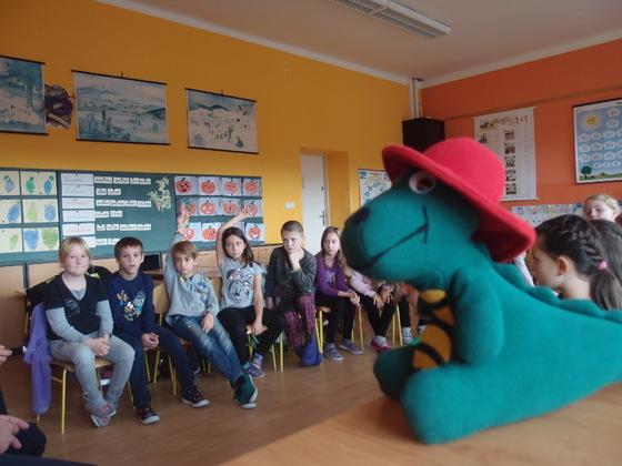 Návštěva hasičů a Hasíka ve 2. třídě