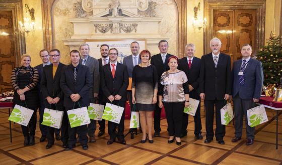 Slavnostní setkání vítězů soutěže VESNICE ROKU v Senátu
