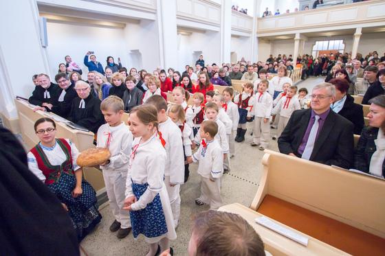 Otevření kostela