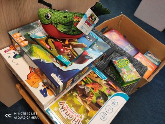 Stolní/deskové hry v knihovně