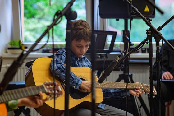 Koncert ve škole