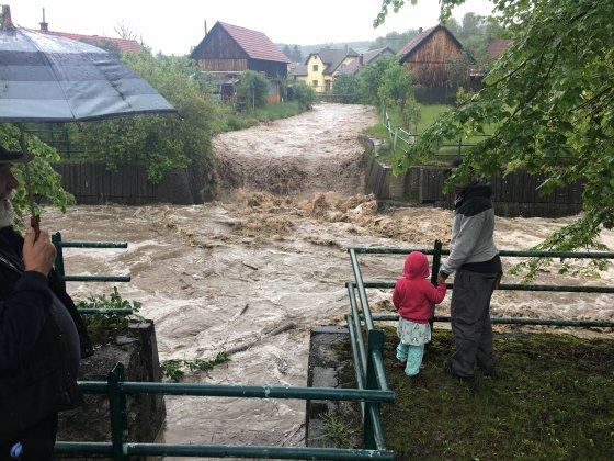 Květnové povodně v Ratiboři