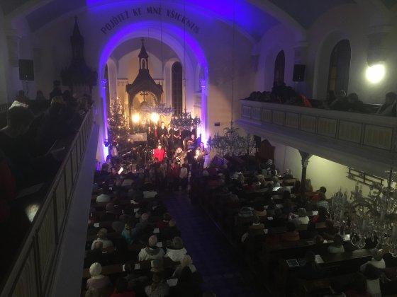 Koncert Kosáčků na Vsetíně