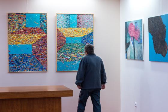 Výstava Libora Sošťáka