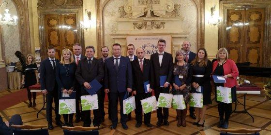 Ocenění Vesnice roku a koncert Zvonků v Senátu ČR