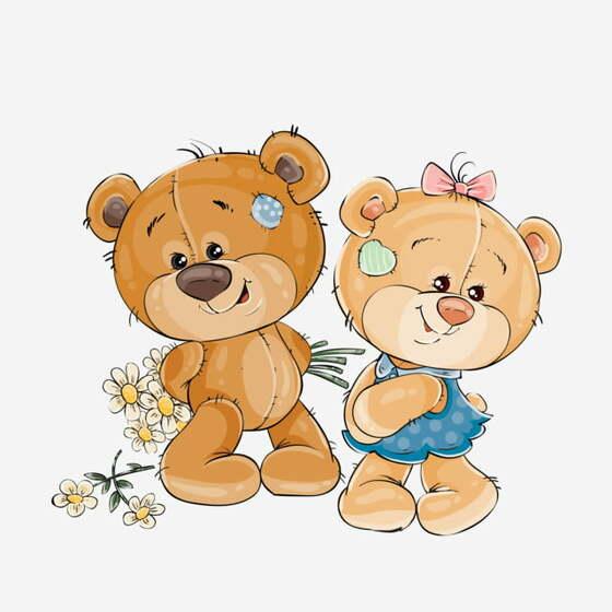 Oslava narozenin u Medvídků