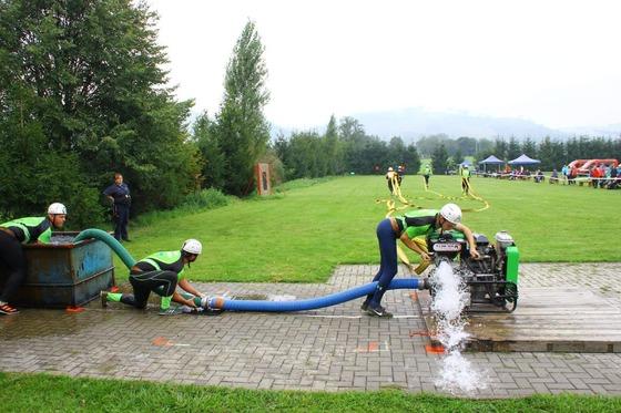 Letní příprava hasičů
