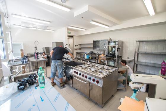 Rekonstrukce kuchyně – MŠ