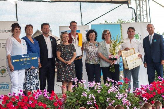 Slavnostní předávání ocenění krajského kola soutěže Vesnice roku 2019
