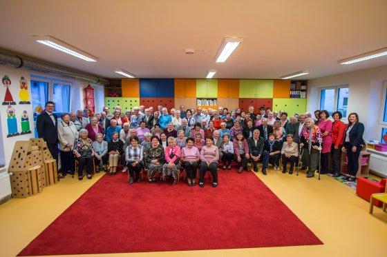 Setkání seniorů ve Školce