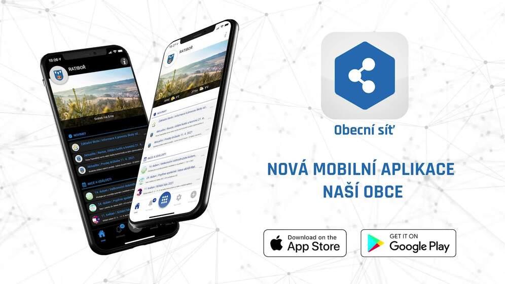 NOVÁ mobilní aplikace pro Ratiboř