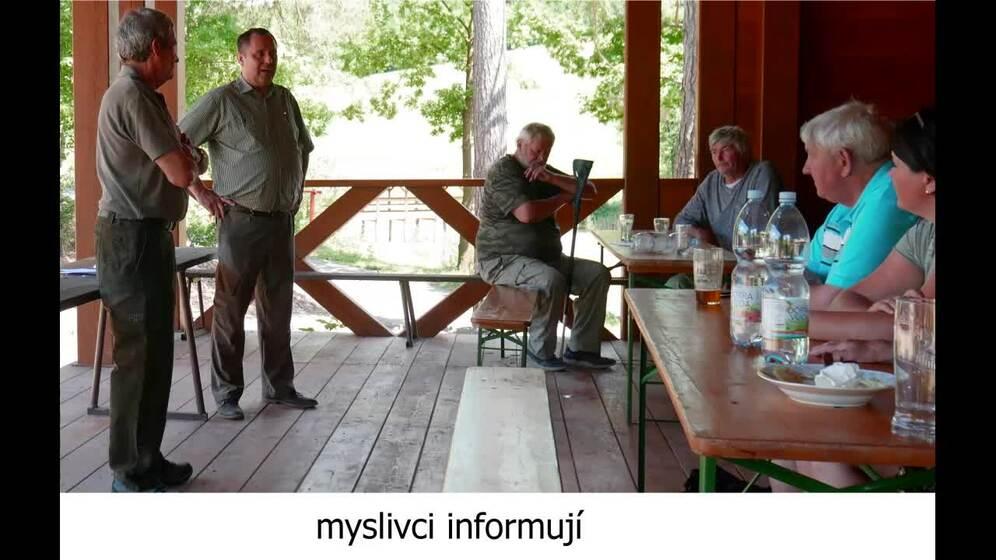Schůze honebního společenstva Ratiboř