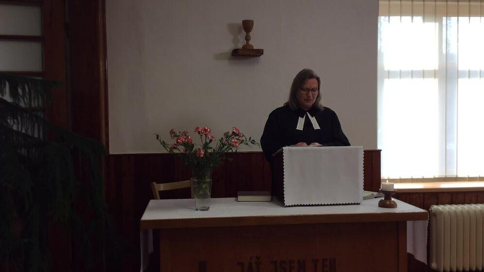 Nedělní bohoslužba ze dne 30. 1. 2021